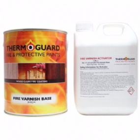 Thermoguard Fire Varnish Timber & Wood Basecoat | www.paints4trade.com